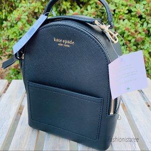 Kate spade Mini backpack convertible black or gray